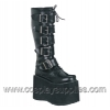 MEGA-618 Black Faux Leather